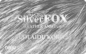Silver FOX VIP kliento kortelė