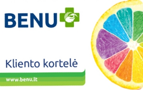 BENU Kliento kortelė