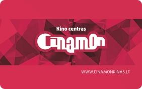 CINAMON kino lojalumo kortelė