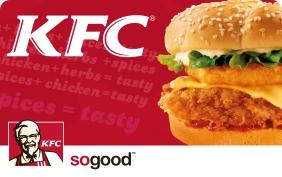 KFC nuolaidų kortelė