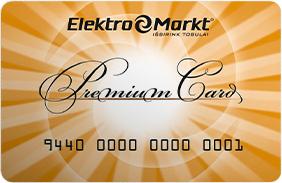 Elektromarkt kortelė